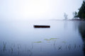 Dock Vanishes Into The Fog Royalty Free Stock Photos - 51305848
