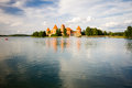 Trakai Island Castle In Lithuania Royalty Free Stock Image - 51326836
