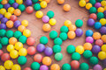 Colorful Plastic Ball In Playground Royalty Free Stock Photos - 51356308