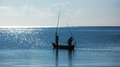 Africa, Kenya, Fishermen, Morning, Ocean, Fishermen In A Boat, Mombasa Stock Image - 51361491
