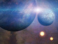 Planets And Suns Royalty Free Stock Photography - 51366077