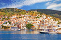 Skopelos Old Town As Seen From The Water Royalty Free Stock Images - 51367089