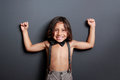 Cheerful Cute Little Boy Posing And Smiling Royalty Free Stock Image - 51375416