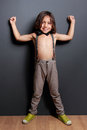 Cheerful Cute Little Boy Posing And Smiling Royalty Free Stock Photos - 51375428