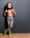 Cute Little Boy Smiling Royalty Free Stock Photo - 51375735
