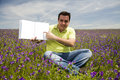 Man Holding Open Book Royalty Free Stock Photo - 5146565