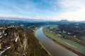 Elbe River In Saxony Royalty Free Stock Photography - 51403317