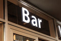 Bar Sign Stock Photography - 51422972