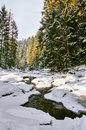 Winter River Stock Images - 51426024