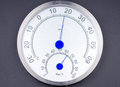 Temperature And Humidity Meter. Royalty Free Stock Image - 51427406