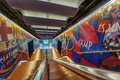 FC Barcelona Tunnel Royalty Free Stock Photography - 51430817