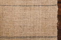 Old Grain Sacking Linen Completely Hand Made  Handwoven And Home Stock Photo - 51434340