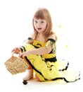 Charming Little Girl Stock Images - 51436714
