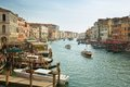 Typical View Of The Canal Grande Canale In Venice, Italy Stock Photos - 51455673