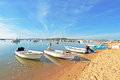 Harbor From Alvor In Portugal Stock Photography - 51456302