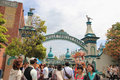 Toy Ville Trolley Park At Tokyo DisneySea Royalty Free Stock Images - 51470439
