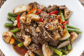 Stir Fried Beef Royalty Free Stock Photography - 51472977