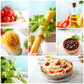 Pasta Collage Royalty Free Stock Images - 51483099