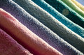 Ironing Colorful Towels Stock Images - 51487344