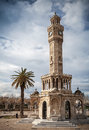 Konak Square View With Old Clock Tower, Izmir, Turkey Royalty Free Stock Photos - 51494588