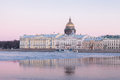English Embankment And Saint Isaacs Cathedral, St. Petersburg Royalty Free Stock Photos - 51499088