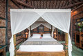 Traditional And Antique Javanese Style Bedroom Villa In Bali Royalty Free Stock Photos - 51500148