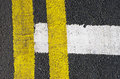 Traffic Lines On The Asphalt Road Royalty Free Stock Photography - 51502417