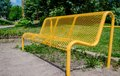 Yellow Bench Stock Photography - 51505342