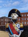 Statue Of Admiral Horatio Lord Nelson Royalty Free Stock Photos - 51507078