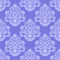 Llight Blue Seamless Damask Wallpaper. Stock Photos - 51507673