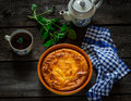 Cottage Cheese Casserole Royalty Free Stock Photos - 51508008