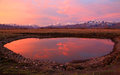Heber Valley Sunset Reflection Royalty Free Stock Image - 51515726