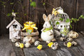 Easter Still Life With Holiday Decorations Royalty Free Stock Photography - 51521427