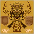 Special Unit Military Patch - Vector Set Stock Image - 51525171