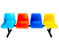 Colorful Row Seats Royalty Free Stock Image - 51528196