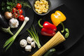 Pasta Ingredients Royalty Free Stock Photo - 51528655
