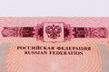 Russian Passport Royalty Free Stock Images - 51540919