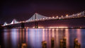 The Bay Bridge Stock Photo - 51544370