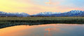Heber Valley Sunrise Panorama Royalty Free Stock Images - 51550179