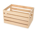 Empty Wooden Box Royalty Free Stock Image - 51561866
