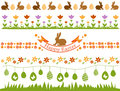 Easter Border Set Royalty Free Stock Images - 51574729