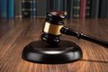 Close-up Of Gavel Stock Images - 51579584