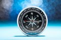 Metal Compass Royalty Free Stock Photography - 51579907