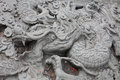 Chinese Dragon Carve Royalty Free Stock Photography - 51589867