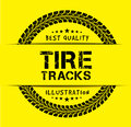 Tire Tracks Stock Image - 51593351