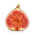 Fig Isolated On White Stock Photography - 51593412