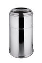 Trash Can 45 Liters Polished Stainless Steel Royalty Free Stock Image - 51598466
