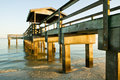 Old Fishing Pier Royalty Free Stock Image - 5168246