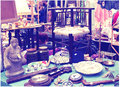 Antique Display Greenwich Market. Famous Place To Buy An Art, Crafts, Antiques Etc., London Royalty Free Stock Photography - 51627977