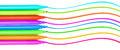 Colorful Markers Pens Multicolored Felt Pens Stock Image - 51630991
